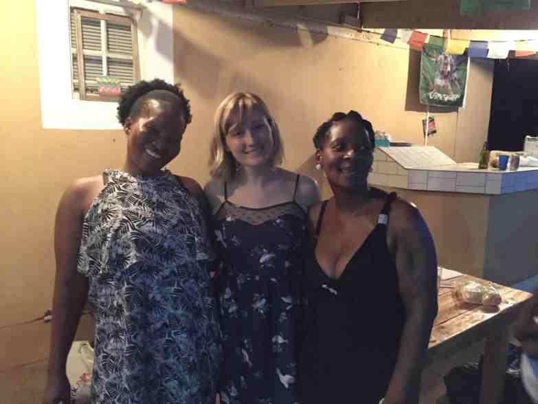 My wonderful nurse friends, Malebogo and Boitumelo