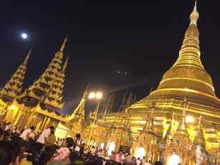 Shwezigon Pagoda Yangon
